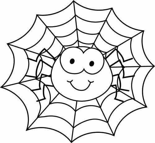 Kleurplaat Spin In Web Spider Coloring Page Halloween Coloring Sheets Spiderman Coloring
