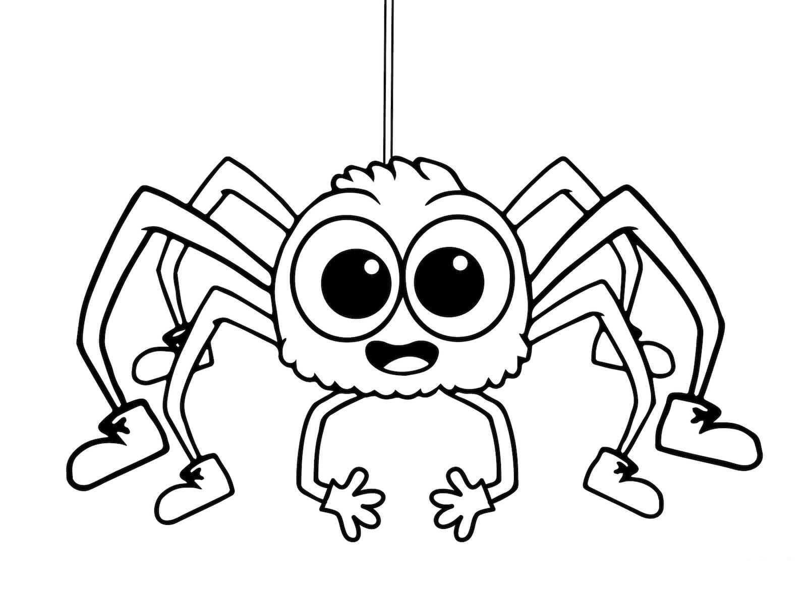 Pin Van Loly Anrujar Perez Op Herfst Spinnen Kleurplaten Fijne Halloween Spinnenwebben Herfst Knutselen