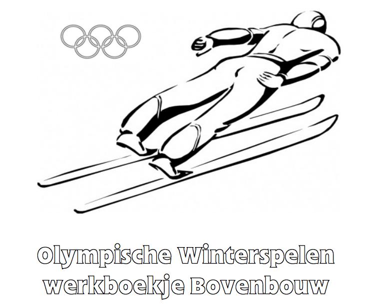 Olympische Spelen Werkboekje Bovenbouw Olympische Winterspelen Winterspelen Olympisch