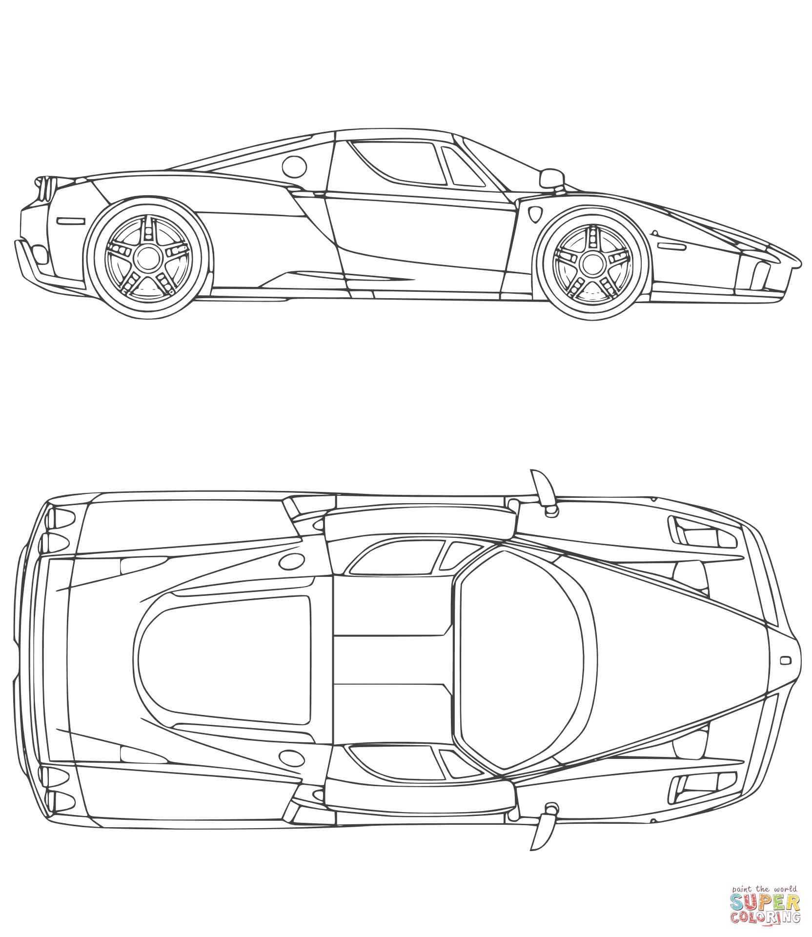 Kleurplaat Ferrari F50 Google Zoeken Kleurplaten Sjablonen