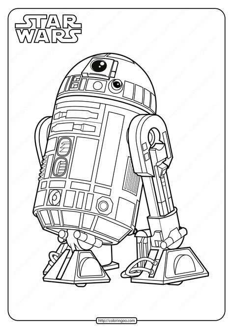 Star Wars R2 D2 Printable Coloring Pages Star Wars Coloring Book Star Wars Drawings Star Wars Coloring Sheet