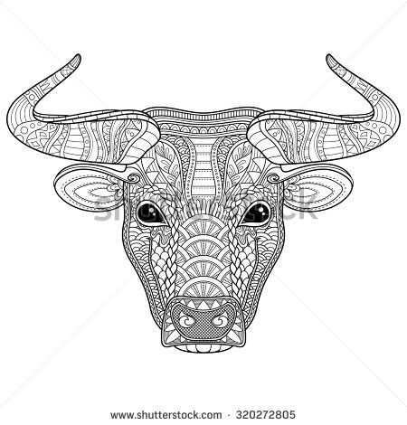Pin By Elke Gabler On Animal Coloring Pages Doodle Animal Outline Animal Coloring Pages Tribal Animals
