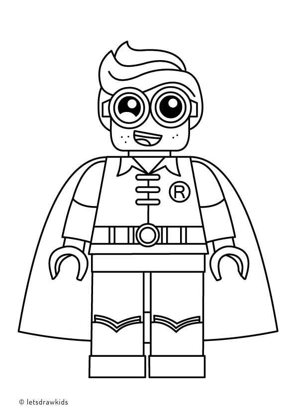 Lego Batman And Robin Coloring Page Google Search Lego Coloring Pages Lego Batman Birthday Party Lego Coloring
