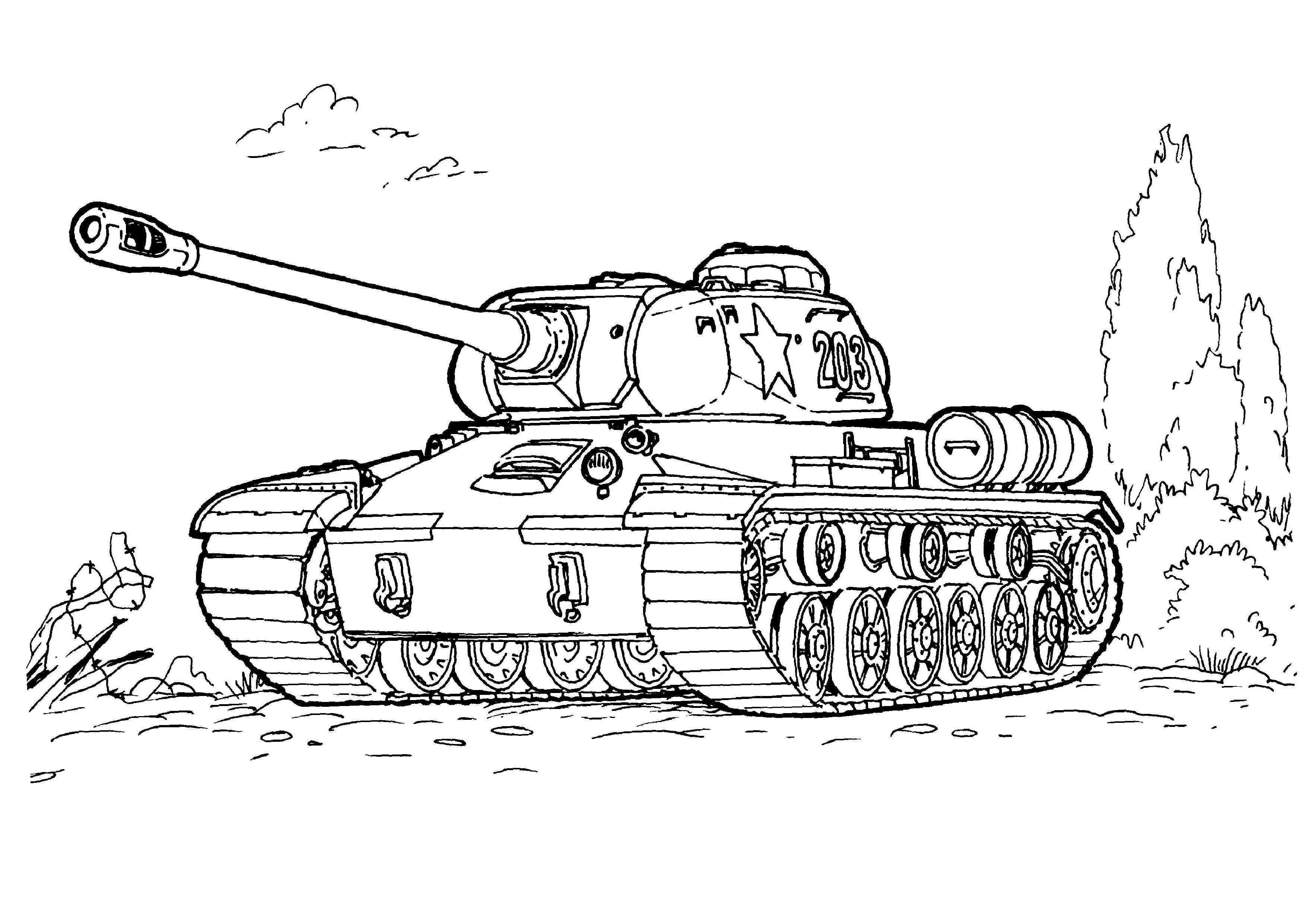 Eerste Wereldoorlog Moderne Tank Nee Wo2 Tweede Wereldoorlog Een Amerikaanse Tank Als Kleurplaat Leuk Kleurplaten Voor Kinderen Tank