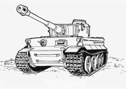 Coloring Pages Military Coloring Pages Tank Drawing Truck Coloring Pages Tiger Tank