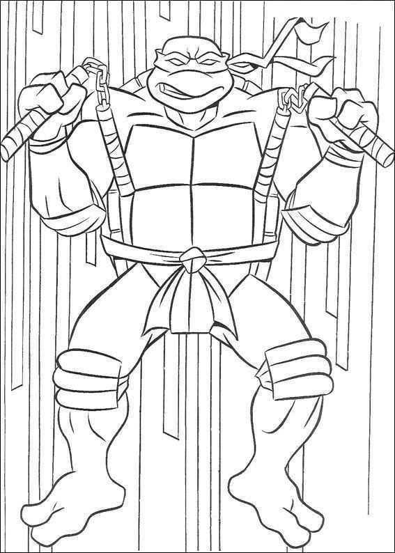 Kleurplaten Van Ninja Turtles Kleurplaten Superhelden Ninja Turtles