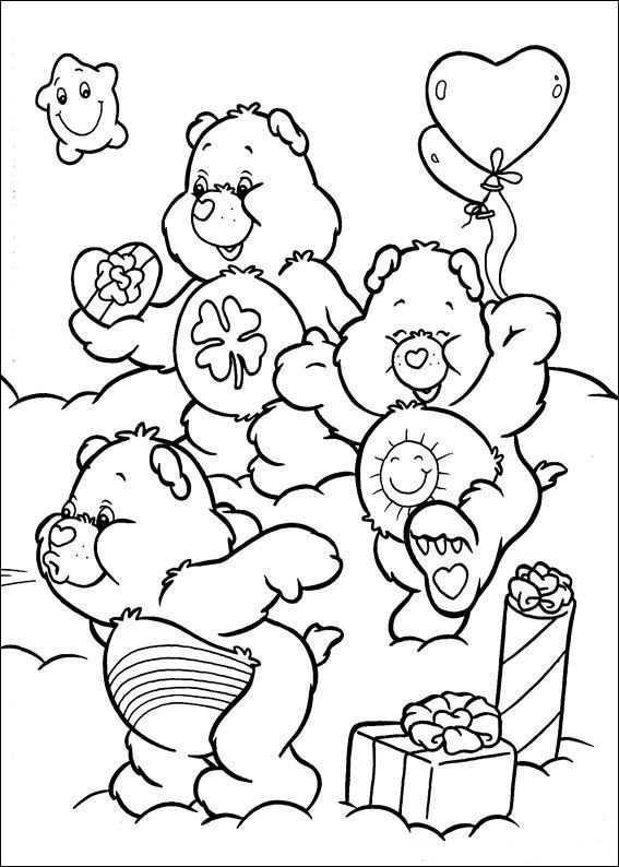 Kids N Fun Kleurplaat Troetelbeertjes Troetelbeertjes Kleurplaten Kleurplaten Voor Kinderen Kleurboek