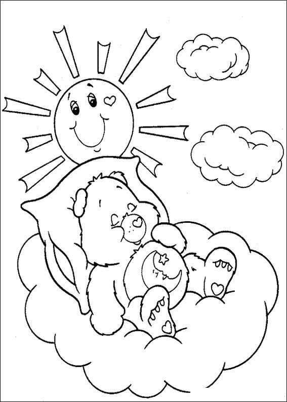 Kids N Fun Coloring Page Care Bears Care Bears Bear Coloring Pages Coloring Pages Baby Coloring Pages