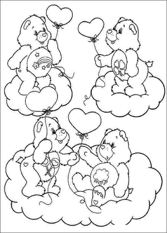 Kids N Fun Kleurplaat Troetelbeertjes Troetelbeertjes Kleurplaten Gratis Kleurplaten Kleurboek