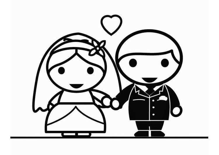 Kleurplaat Huwelijk Afb 26445 Huwelijk Kleurplaten Gratis Kleurplaten