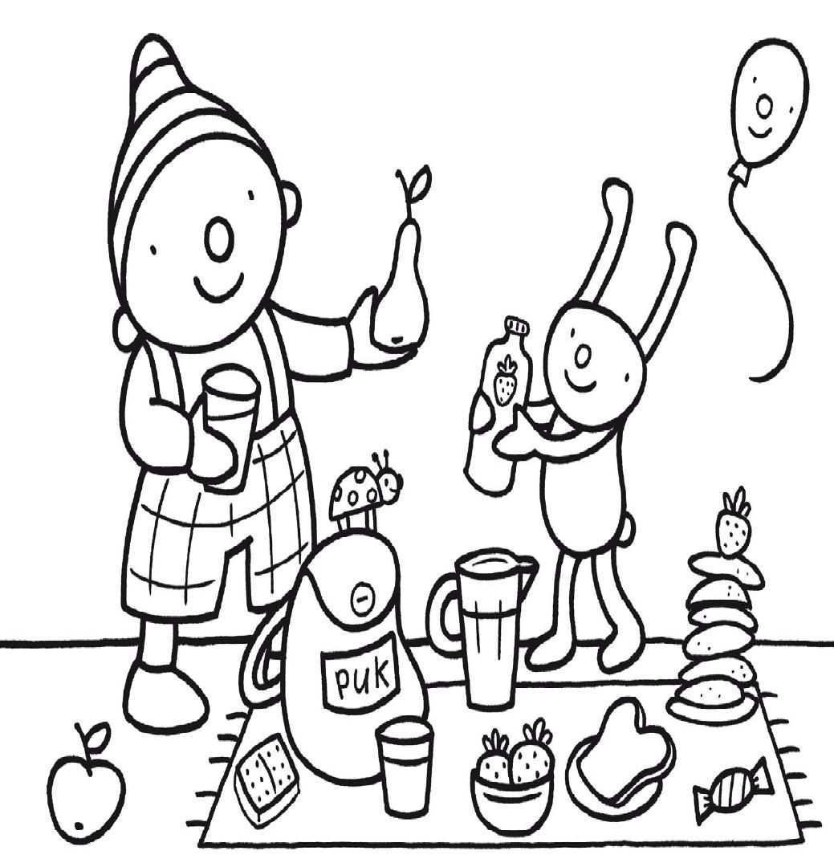 Pin Van Erica V H Op Eet Smakelijk Knutselideeen Uk En Puk Knutselen Thema Eten Thema Picknick Thema