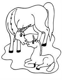 Kleurplaat Unicorn Met Regenboog Google Zoeken Baby Eenhoorn Kleurplaten Eenhoorn