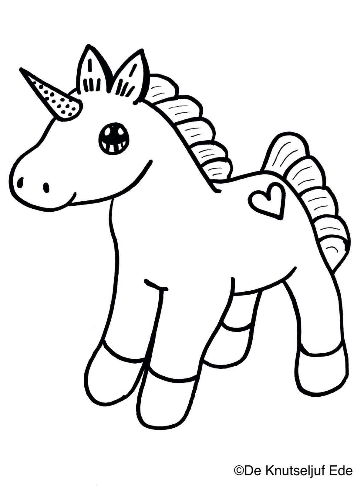 Kleurplaten Eenhoorns Unicorns Eenhoorns Regenboog Knutselen Creatief Kleurplaat De Knuts Regenboog Knutselen Kleurplaten Voor Kinderen Kleurplaten