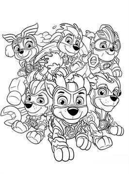 Kids N Fun 24 Kleurplaten Van Paw Patrol Mighty Pups Kleurplaten Gratis Kleurplaten Dieren Kleurplaten