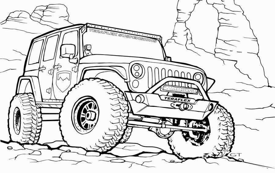 Kleurplaat Coole Jeep Google Zoeken Kleurplaten Jeep Kleuren