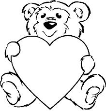 Gerelateerde Afbeelding Kleurplaten Valentijnsdag Beertjes