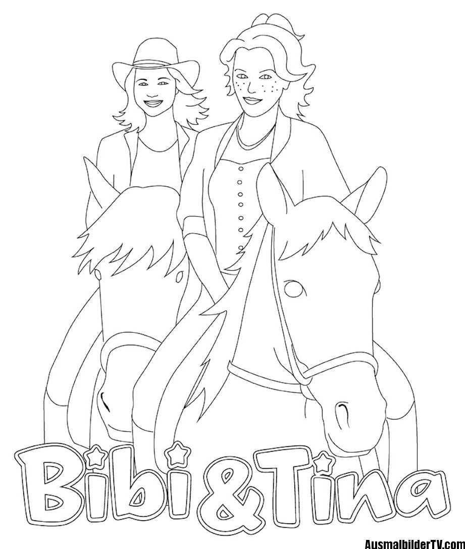 Ausmalbilder Bibi Und Tina Kostenlos Coloring Pages For Kids Free Coloring Pages Coloring Pages