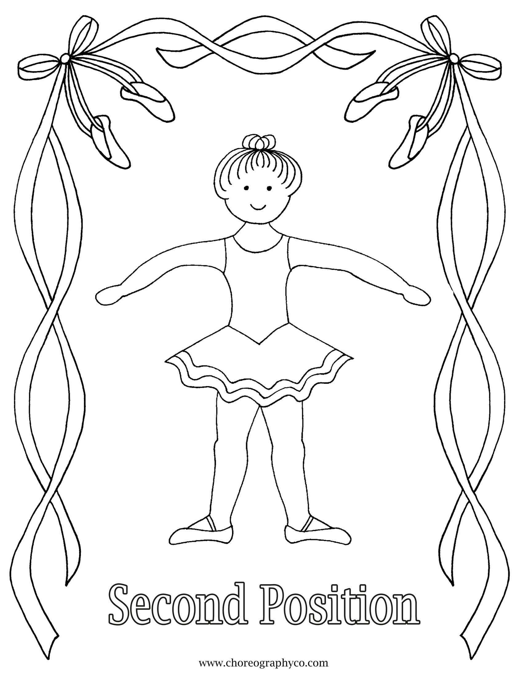 Reproducibleballetcoloringpagesmastersmall Page 02 Jpg 1 700 2 200 Pixels Dansen Kleurplaten Ballet