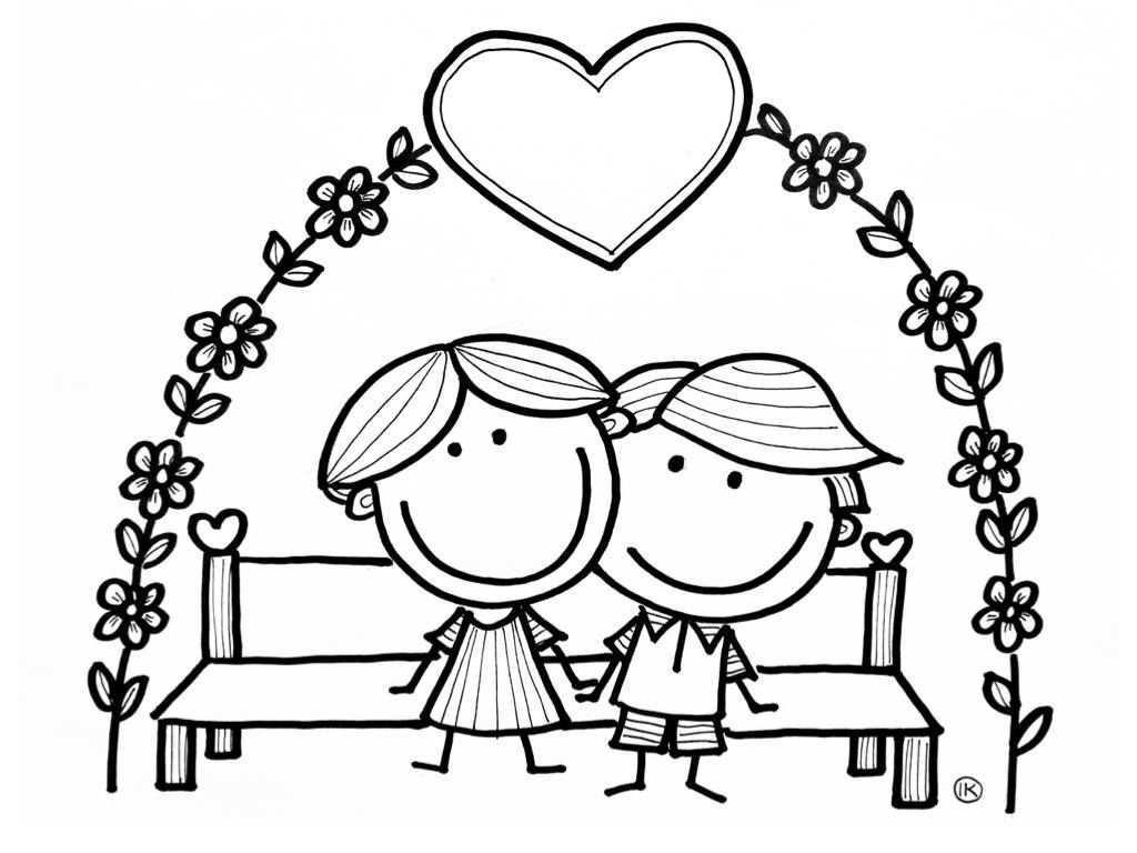 Gefeliciteerd Met Jullie Trouwdag Felicitatiekaart Trouwdag Kleurplaat Jaar Getrouwd
