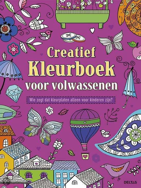 Creatief Kleurboek Voor Volwassenen Kleurboek Creatief Volwassen