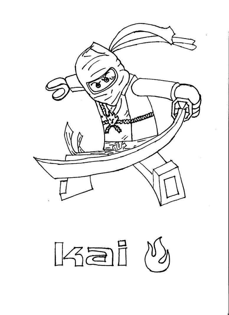 De Meeste Lego Ninjago Kleurplaten Vind Je Hier Kleurplaten Van Kai Zane Jay Cole Sen
