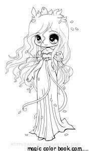 Manga Anime Chinese Japanese Coloring Pages Online Girl Animal Coloring Pages Chibi C