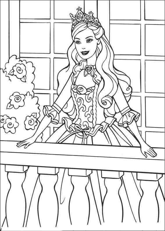 Kleurplaten En Zo Kleurplaat Van Barbie En De Bedelaar Prinses Kleurplaatjes Kleurplaten Kleurboek