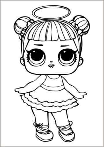 Bekijk Andere Collecties Van Lol Doll Sugar Kleurplaat Laat Uw Kinderen Innoveren Door De Foto S Te Kleuren Die Ze Willen Kleurplaten Kleuren Lol