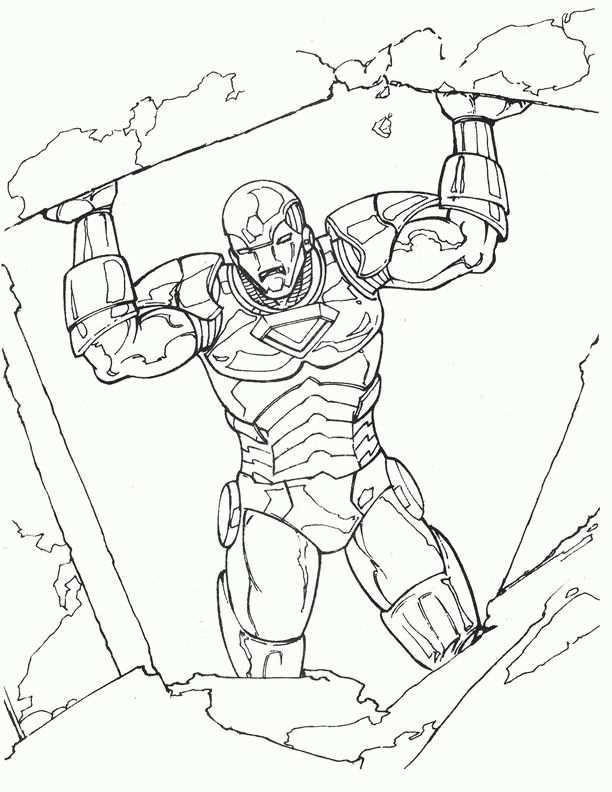 Dibujos Para Colorear Iron Man 10 Kleurplaten Voor Kinderen Kleurboek Voor Kinderen