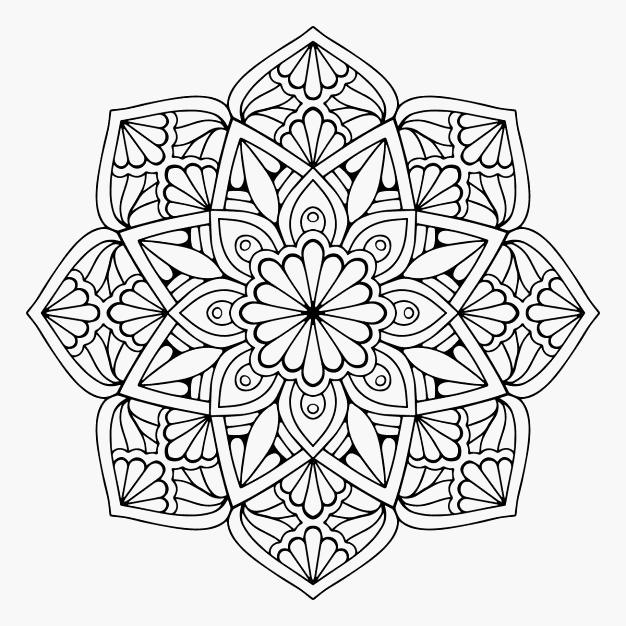 Mandala Kleurplaat Hartjes Model 545 Beste Afbeeldingen Van Mandala En Zentangle Mand