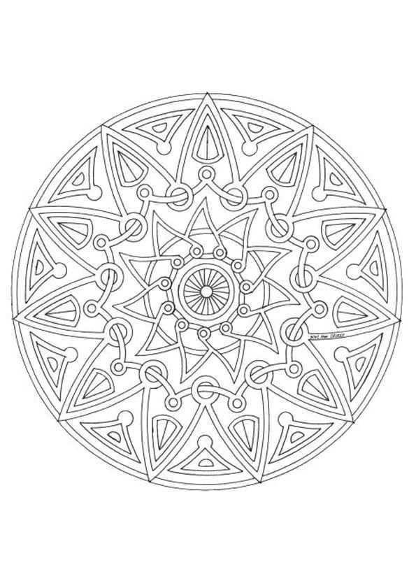Kleurplaat Mandala Kleurplaten 5086 Kleurplaten Mandala Kleurplaten Mandala Kleurplat