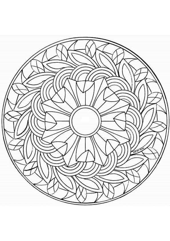 Kleurplaat Mandala Kleurplaten 5162 Kleurplaten Mandala Kleurplaten Kleurplaten Manda