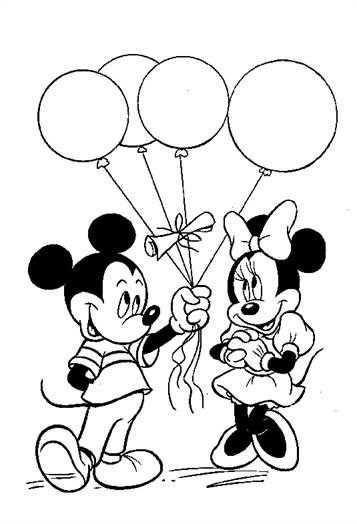 Leuke Kleurplaat Mickey En Minnie Op Kids N Fun Nl Kleurplaten Boek Bladzijden Kleuren Mickey Mouse