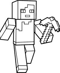 25 Gratis Te Printen Minecraft Kleurplaten Topkleurplaat Nl Kleurplaten Minecraft Minecraft Knutselwerk