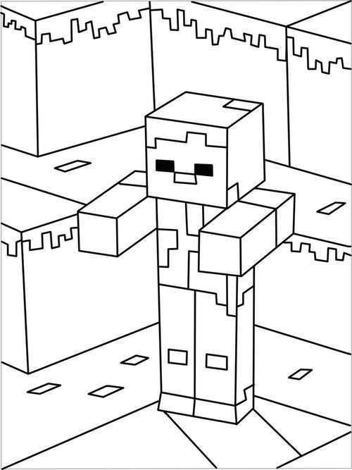 Minecraft Kleurplaat 5 Topkleurplaat Nl Lego Kleurplaten Kleurplaten Gratis Kleurplaten