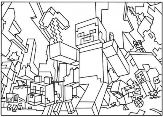 Free Printable Minecraft Coloring Pages 11 Picture 1000 Free Printable Coloring Pages For Kids Coloring Books Kleurplaten Gratis Kleurplaten Minecraft