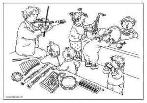 Kleuteridee Dagmar Stam Muziek Muziek Theater Thema