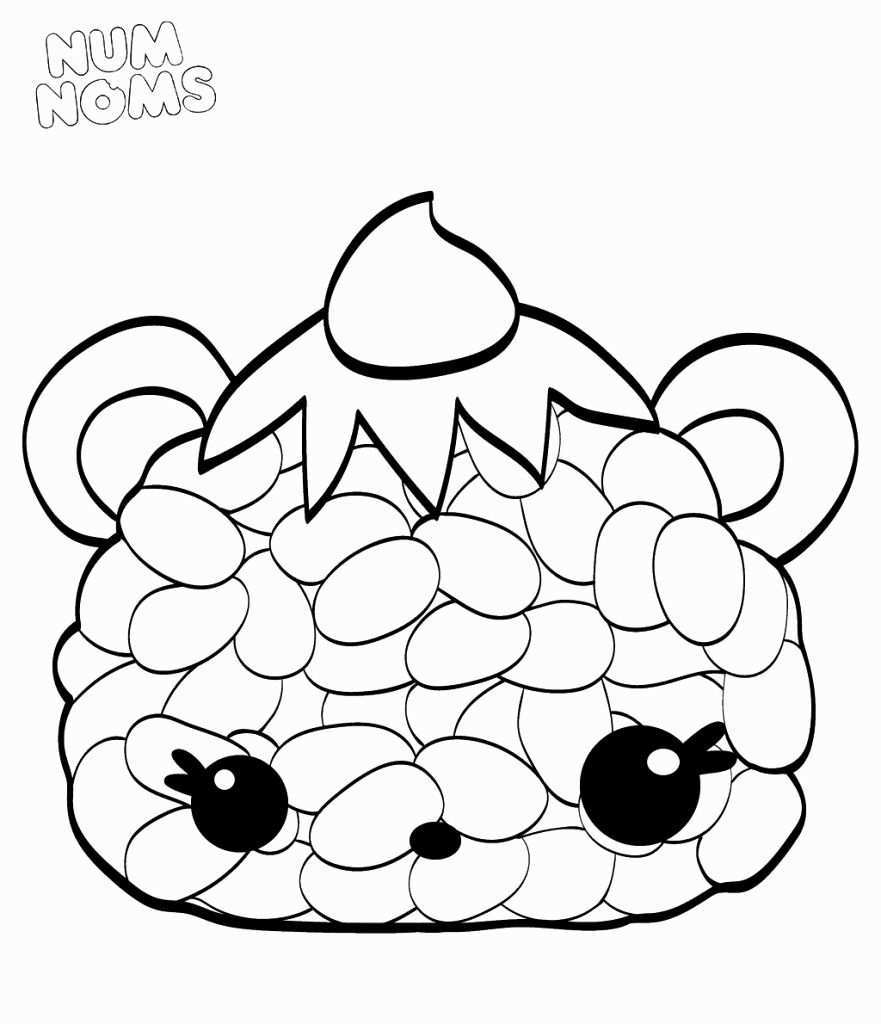 Num Noms Coloring Page Inspirational 20 Free Printable Num Noms Coloring Pages Coloring Pages Inspirational Cartoon Coloring Pages Cute Coloring Pages