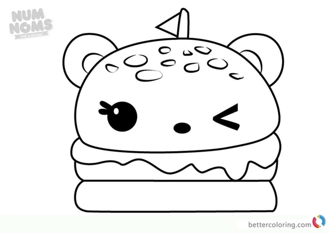 Num Noms Coloring Pages Beautiful Cheeseburger Coloring Page Ronniebrownlifesystems Dream Catcher Coloring Pages Shopkins Colouring Pages Cute Coloring Pages