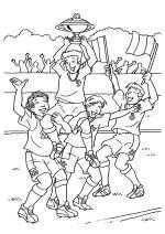Kleurplaat Sporten Kleurplaten Voor Volwassenen Voetbal Kleurboek
