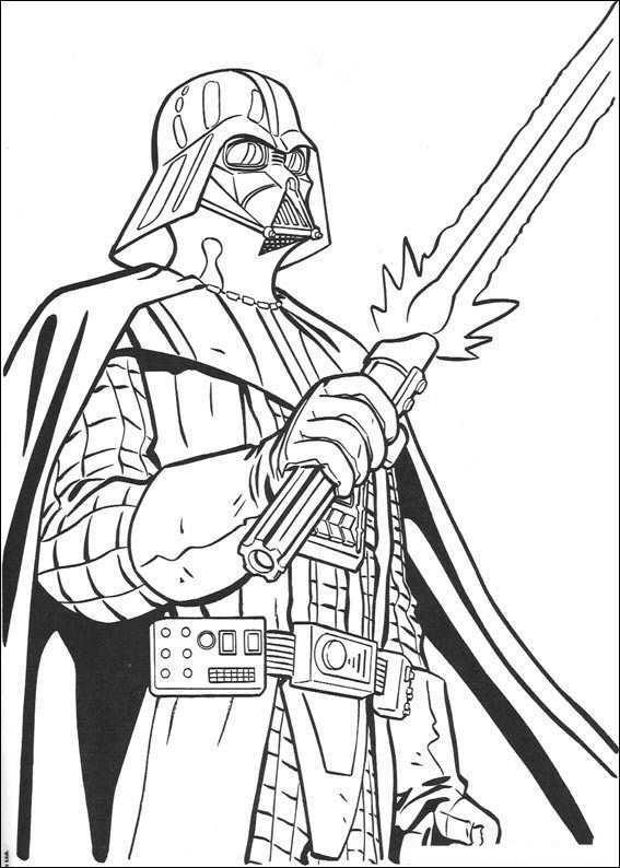 Kleurplaat Star Wars Darth Vader Kleurplaten Voor Volwassenen Kleurplaten Kleurboek