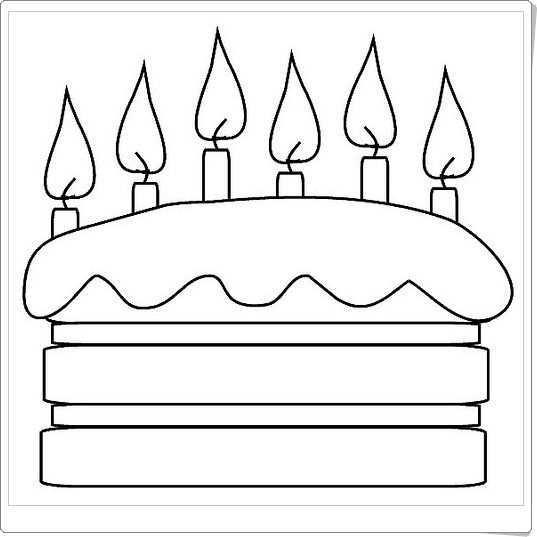 Taart Met Kaarsjes Verjaardagskalender Verjaardagsslinger Verjaardag