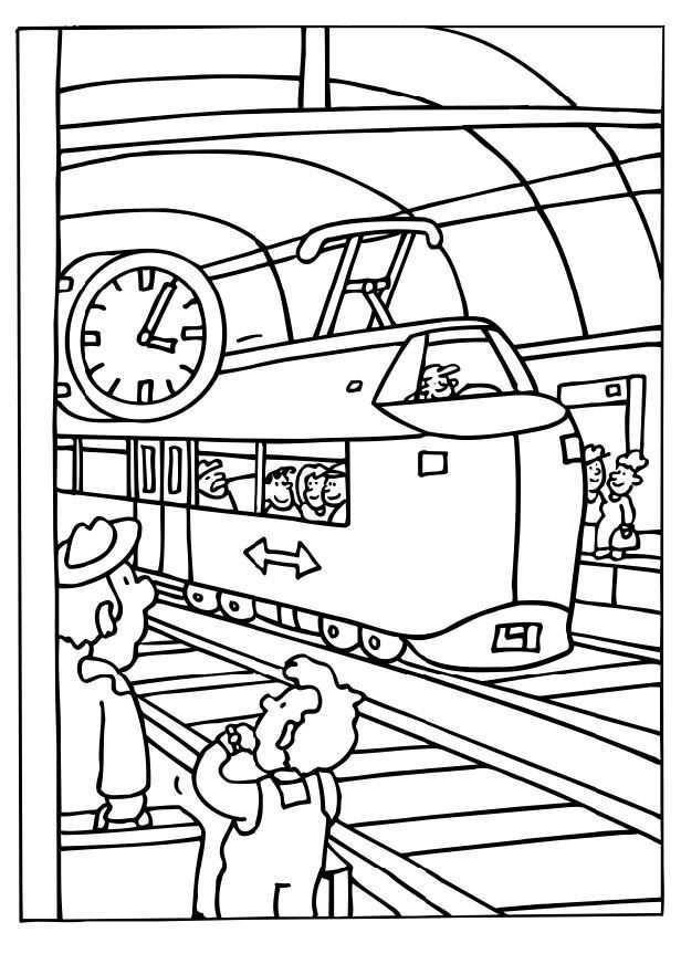 Pin Op Thema Trein Kleuters Preschool Theme Trains Train Theme Maternelle