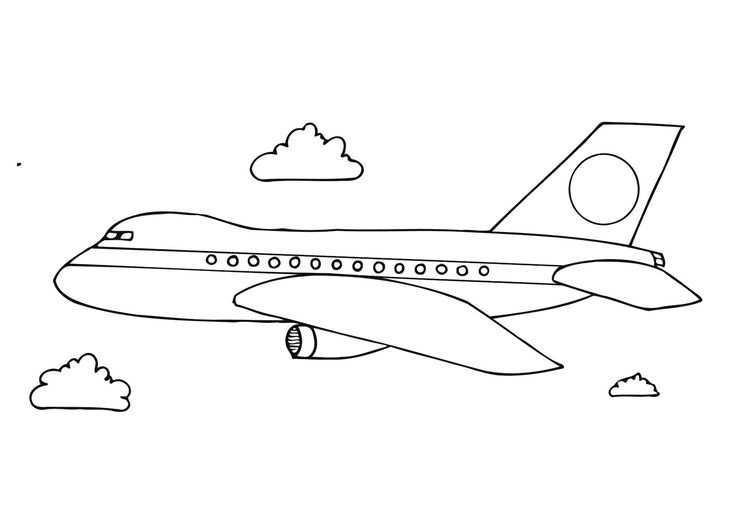 Kleurplaat Vliegtuig Afb 12281 Vliegtuig Knutselen Kleurplaten Gratis Kleurplaten