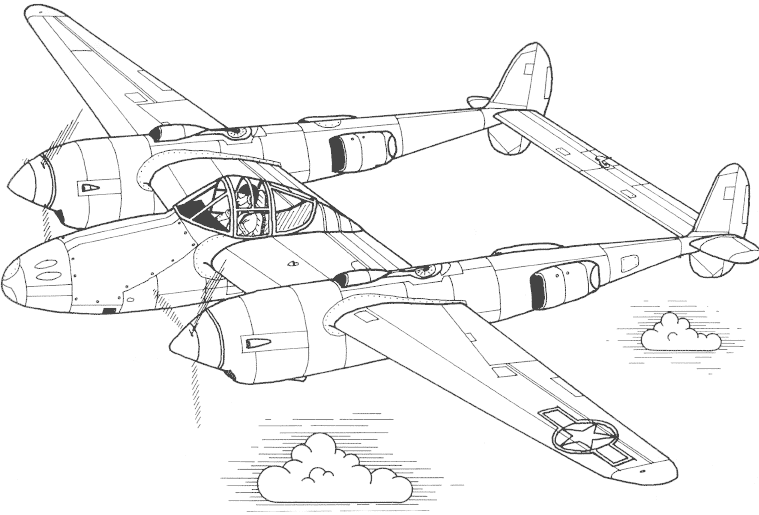 Vliegtuig Met Twee Propellers Airplane Coloring Pages Plane Drawing Coloring Pictures