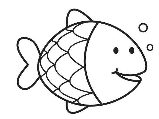 Kleurplaat Vis Google Zoeken The Rainbow Fish Kinderkleurplaten Bijbelknutselwerk