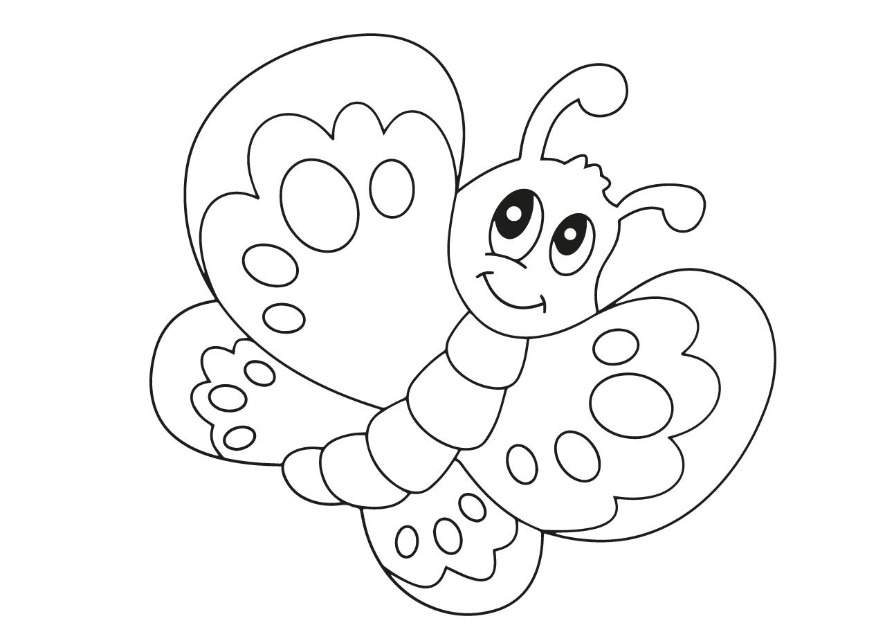 Mewarna11 Moeilijke Kleurplaat Vlinder