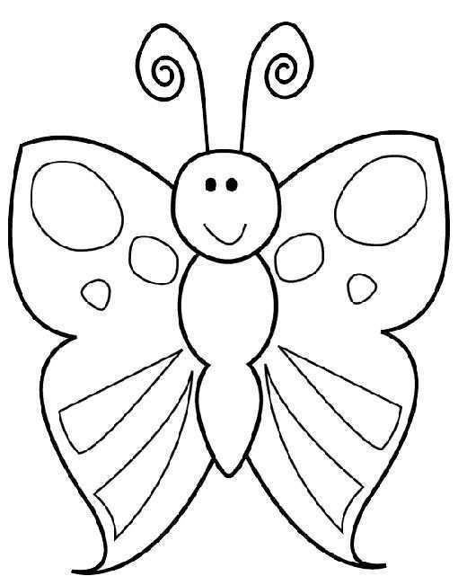Kleurplaat Kleurplaat Vlinder 2186 Kleurplaten Butterfly Drawing Animal Coloring Pages Cute Coloring Pages