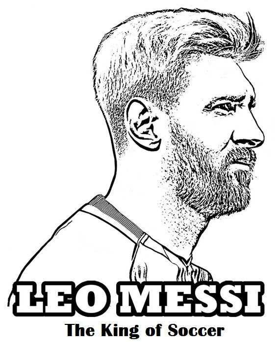 Coloriage Lionel Messi Luxury 60 Best Sport Coloring Page Images On Pinterest Sports Coloring Pages Messi Coloring Pages