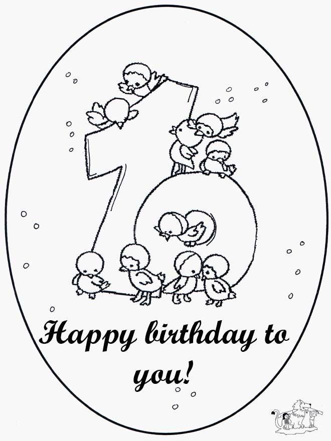 Het Beste Afbeelding Verjaardag Ideeen Arbpmembers Org Verjaardag Verjaardag Bloemen Kleurplaten